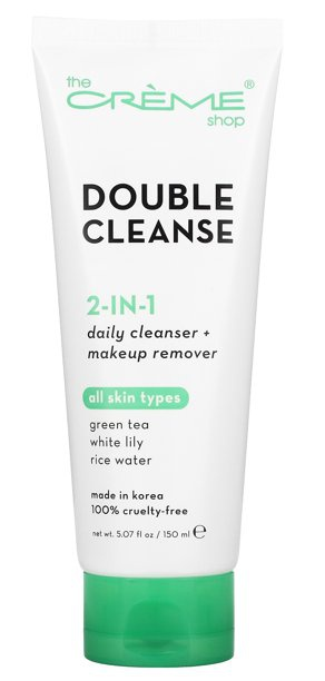 The Creme Shop Double Cleanse Green Tea White Lily Rice Water