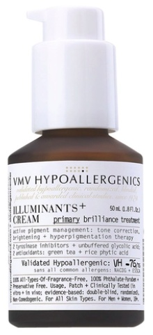 VMV HYPOALLERGENICS Illuminants+ Cream: Primary Brilliance Treatment