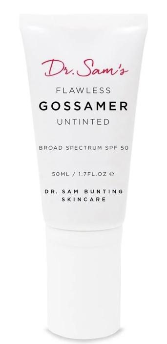 Dr. Sam Bunting Skincare Flawless Gossamer Untinted Spf 50