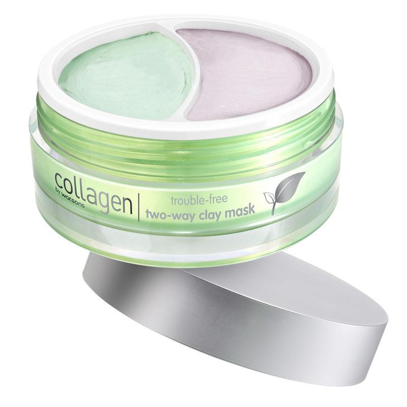 COLLAGEN BY WATSONS Two Way Clay Mask
