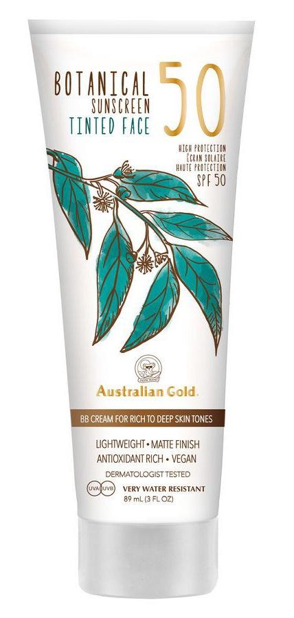 Australian Gold Botanical Sunscreen Tinted Face (Light/Medium/Dark) 2020 Version