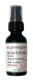 m. greengrass Cbd Head To Toe Cream