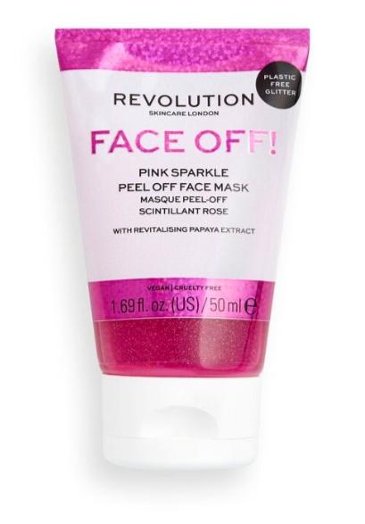 Revolution Skincare Face Off! Pink Sparkle Peel Off Face Mask