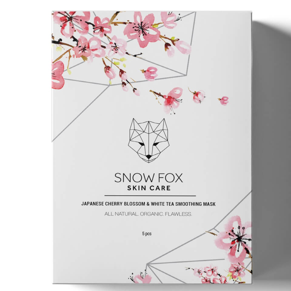 Snow fox Japanese Cherry Blossom &White Tea Smoothing Mask