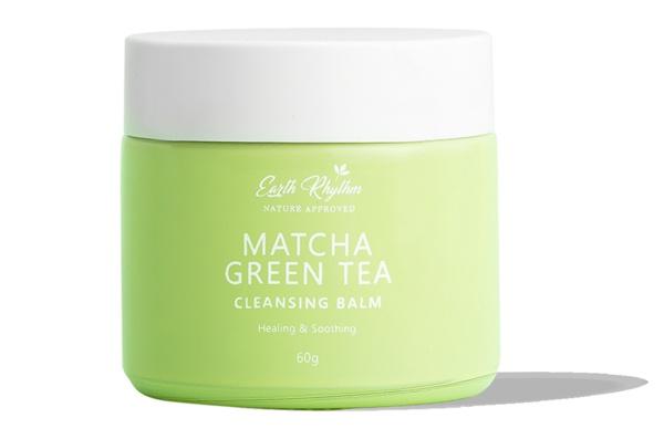 Earth Rhythm Cleansing Balm With Matcha Green Tea