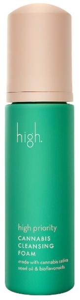 High Beauty High Priority Cannabis Cleansing Foam