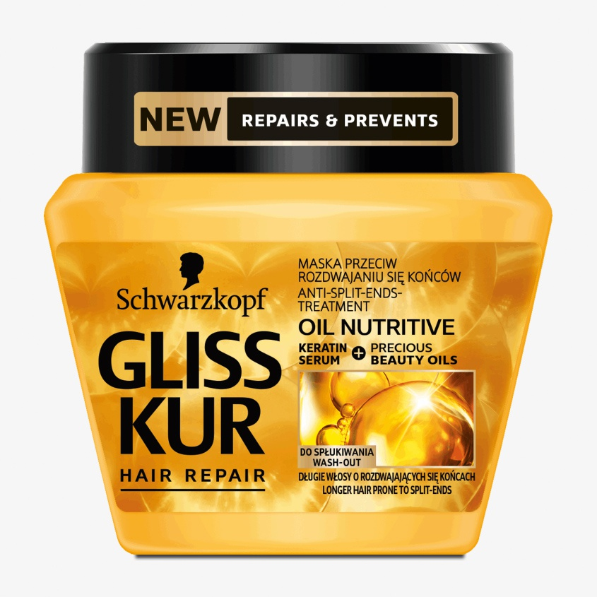 Schwarzkopf Gliss Hair Repair - Oil Nutritive Hair Mask