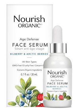 Nourish Organic Age Defense Face Serum