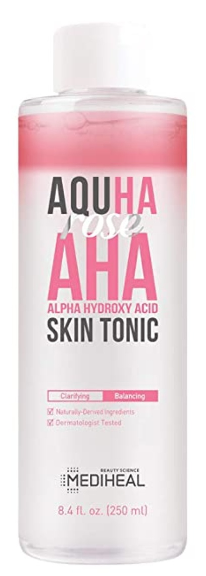 AQUHA Rose Aha Skin Tonic