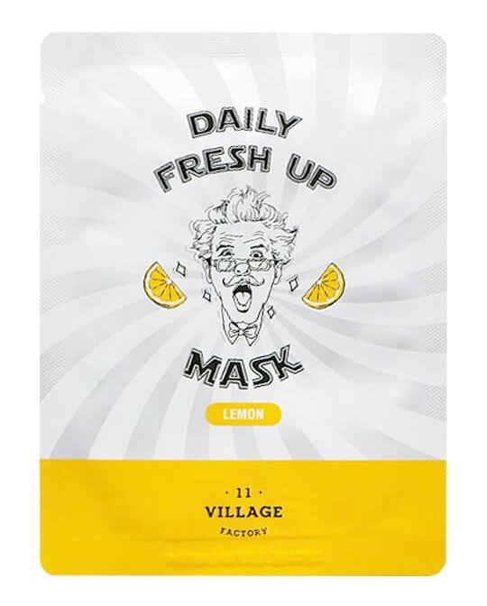 VILLAGE 11 FACTORY Daily Fresh Up Mask Lemon
