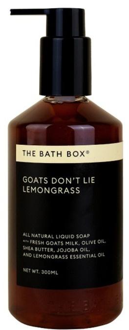 the bath box Goats Don't Lie Lemongrass