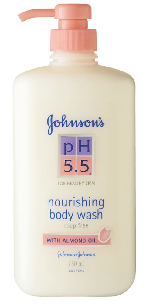 Johnson and Johnson Ph 5.5 Body Wash With Almond Oil