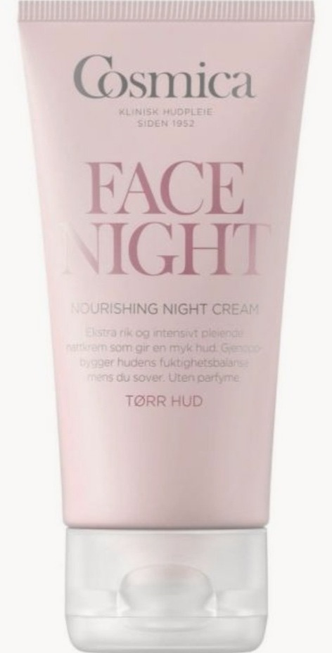 Cosmica Face Night Nourishing Night Cream Dry Skin