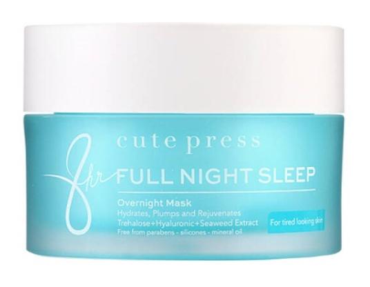 cute press Eight Hours Full Night Sleep Overnight Mask