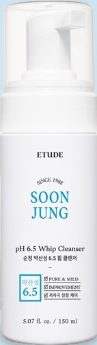 Etude House Soonjung pH 6.5 Whip Cleanser 21AD