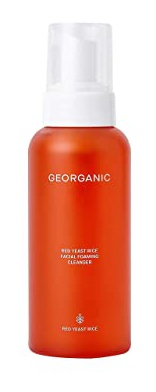 Georganic Red Yeast Rice Facial Foaming Cleanser