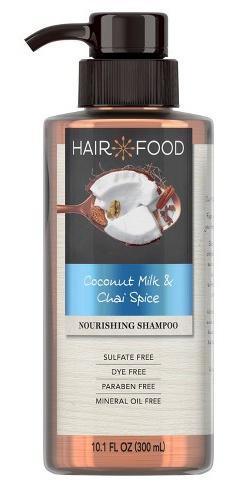Hair Food Coconut & Chai Spice Sulfate Free And Dye Free Nourishing Shampoo