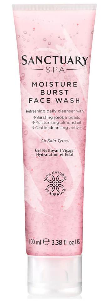 Sanctuary Spa Moisture Burst Facial Wash