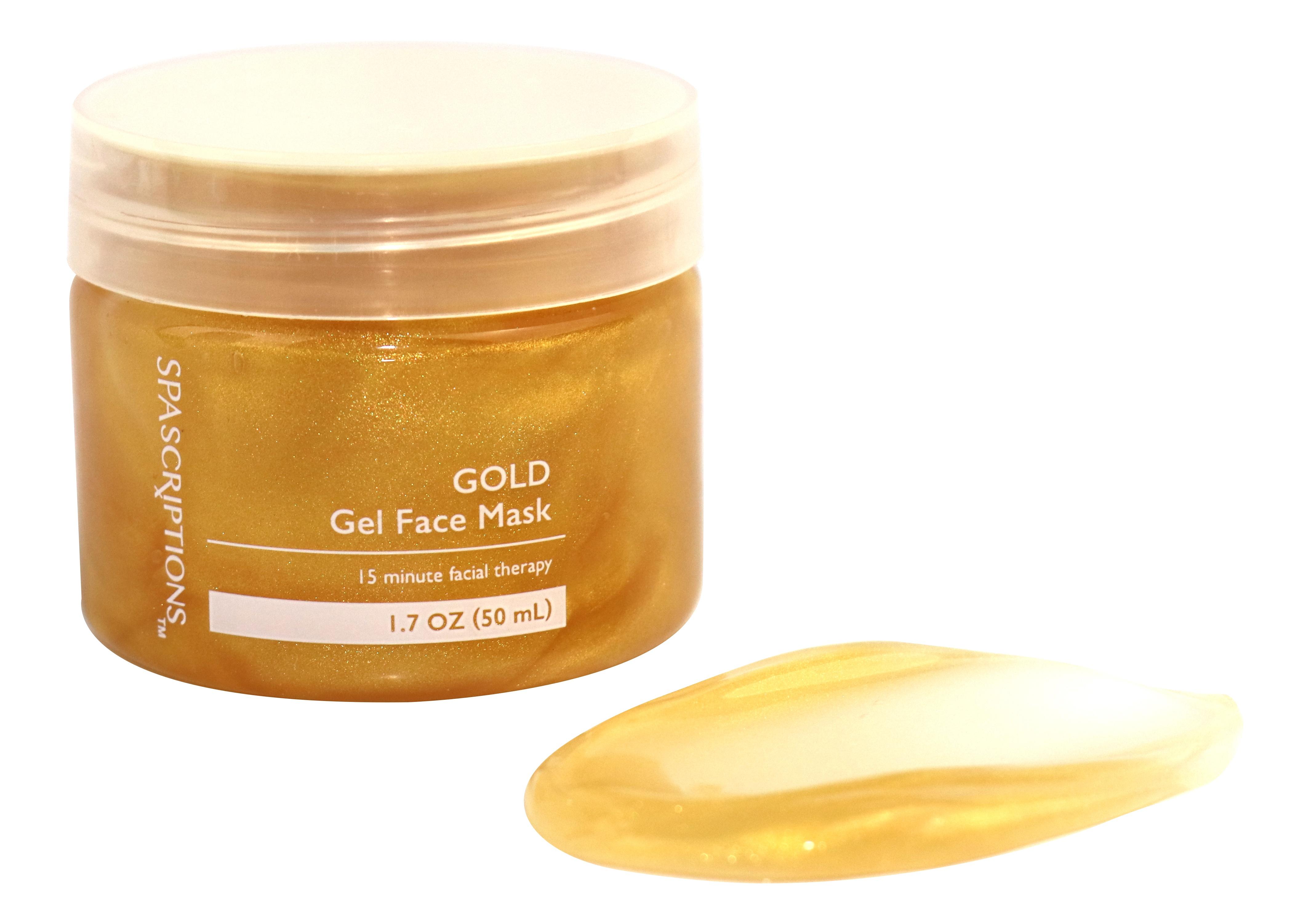 Spascriptions Gold Gel Face Mask