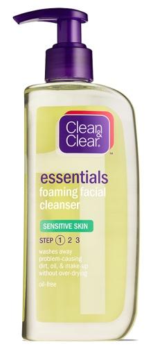 Clean & Clear Essentials Foaming Face Wash Sensitive Skin