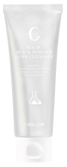 Caolion Magic Black Powder Foam Cleanser