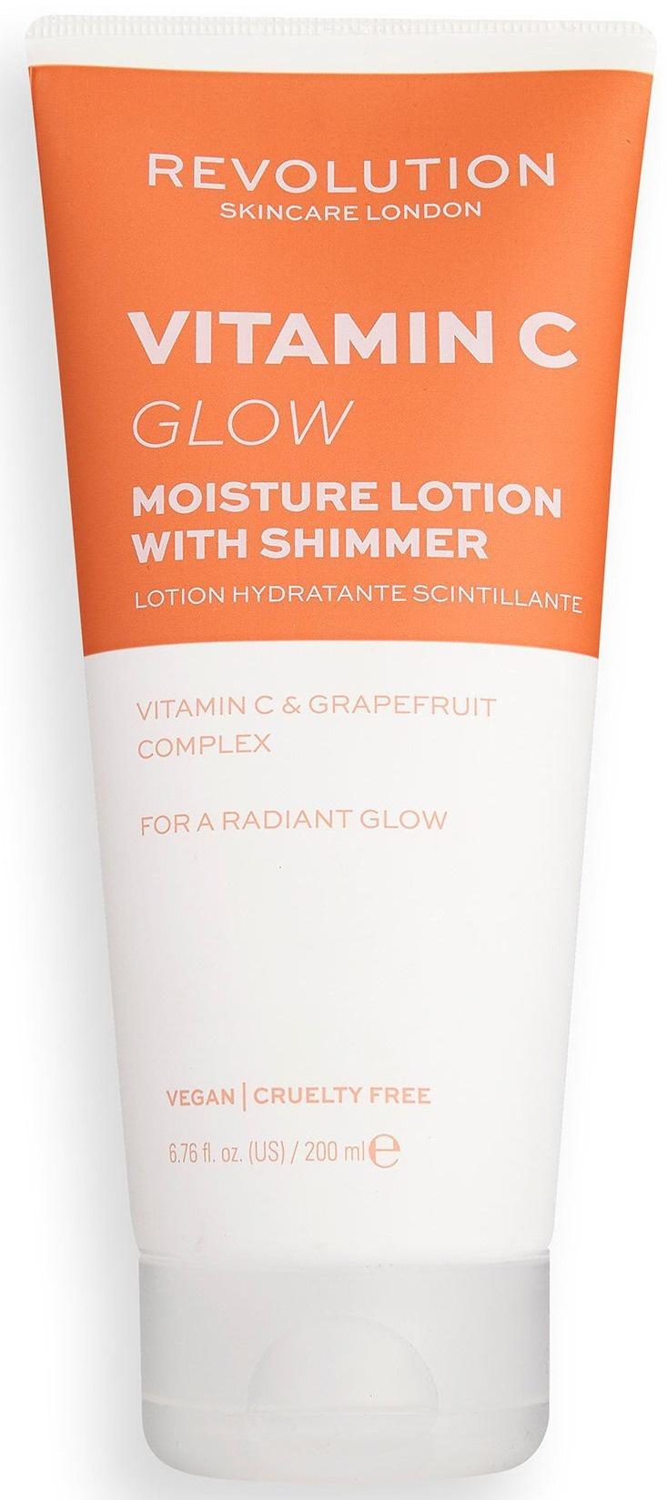 Revolution Skincare Vitamin C Glow Shimmer Moisture Lotion