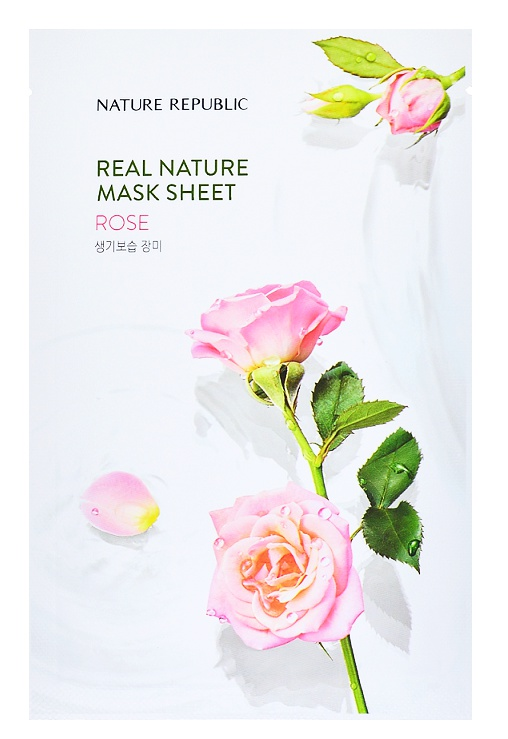 Nature Republic Real Nature Mask Sheet Rose