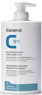 Ceramol 311 Face And Body Cleansing Oil