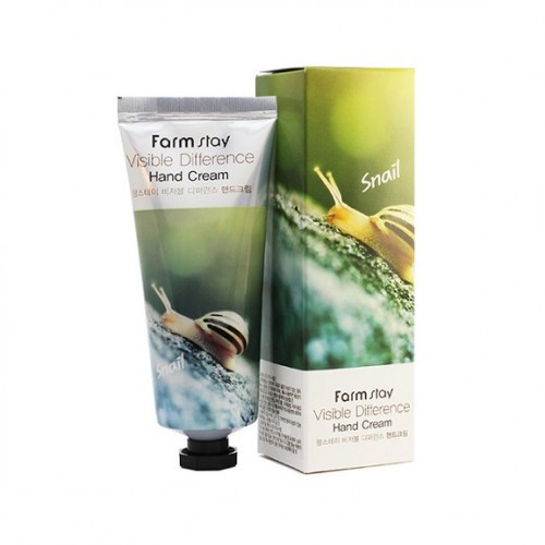 Farmstay Visible Difference-Hand Cream-Snail