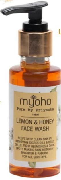 Myoho pure by Priyanka Lemon And Honey Face Wash