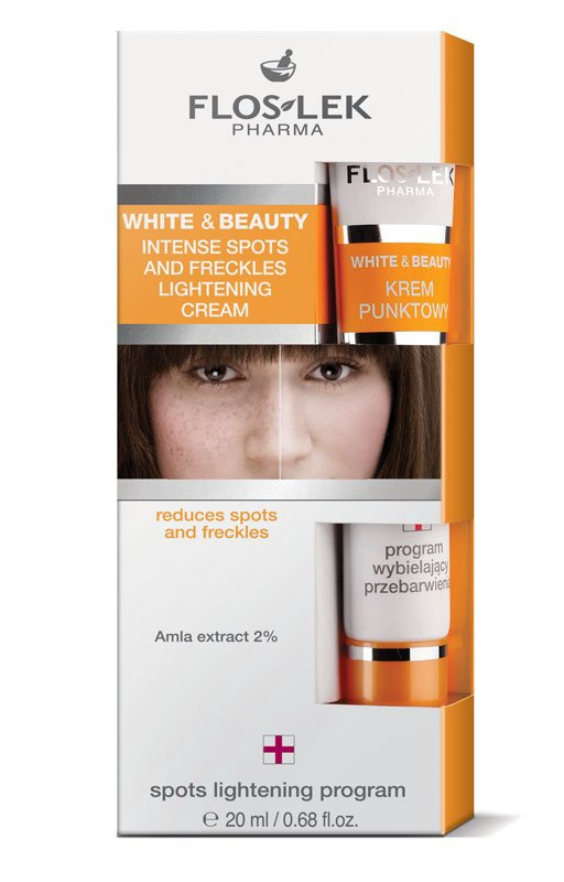 Floslek Intense spots and freckles lightening cream