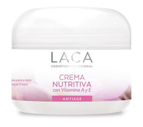 Laca Crema Nutritiva Com Vitamina A Y E