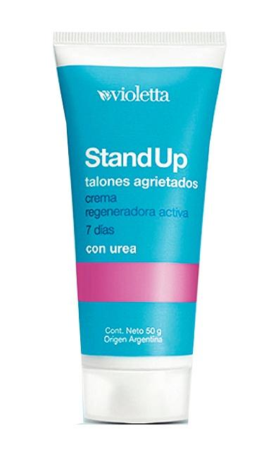 Violetta Stand Up Talones Agrietados