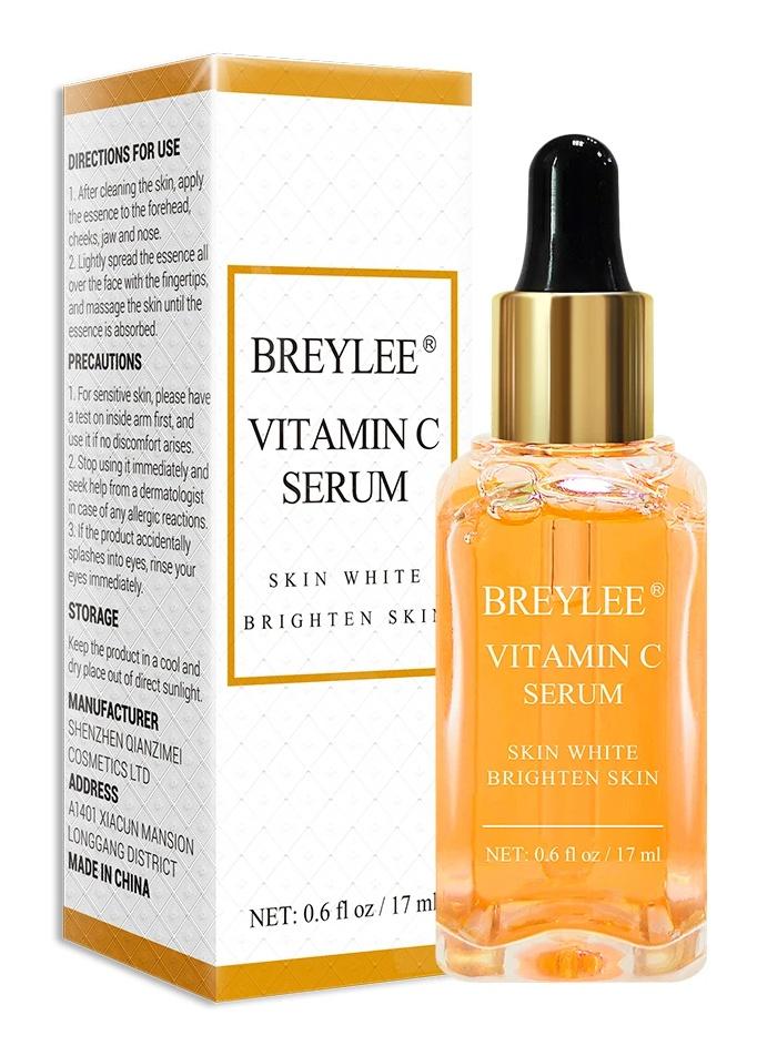 Breylee Vitamin C Serum Brightening Serum Face Skin Care Anti-Aging Serum(17Ml, 0.6Fl Oz)