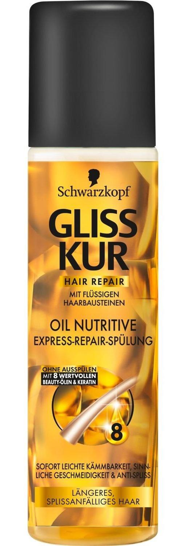 Schwarzkopf Gliss Kur Express Repair Conditioner Oil Nutritive
