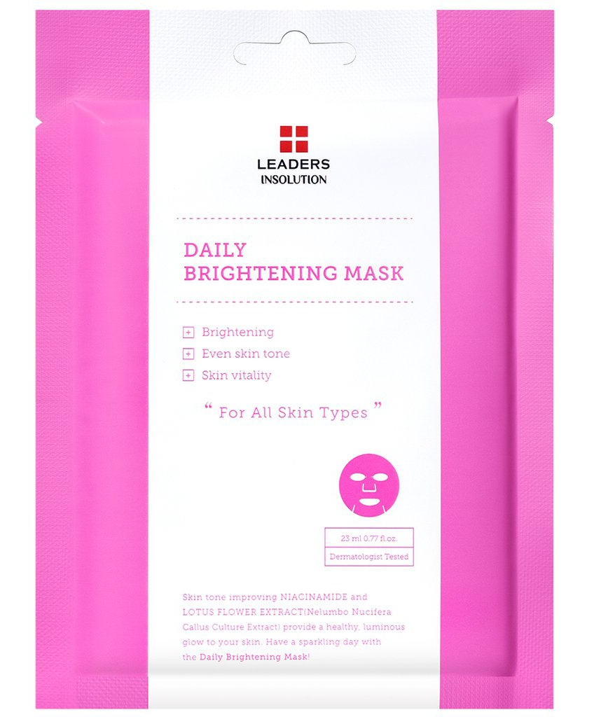 Leaders Insolution Daily Brightening Mask