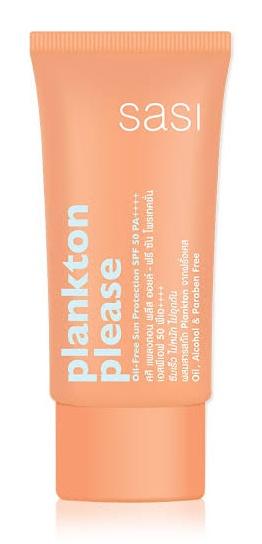 Sasi Plankton Please Oil -free Sun Protection SPF 50 PA++++
