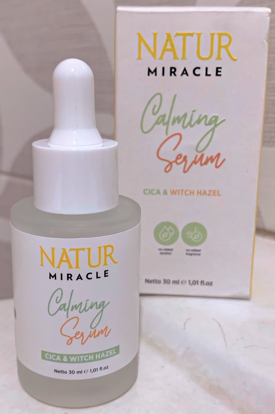 Natur Miracle Calming Face Serum : Cica & Witch Hazel