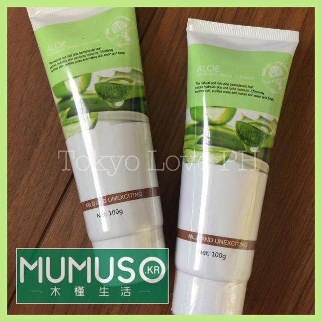 Mumuso Aloe Soothing Facial Cleanser