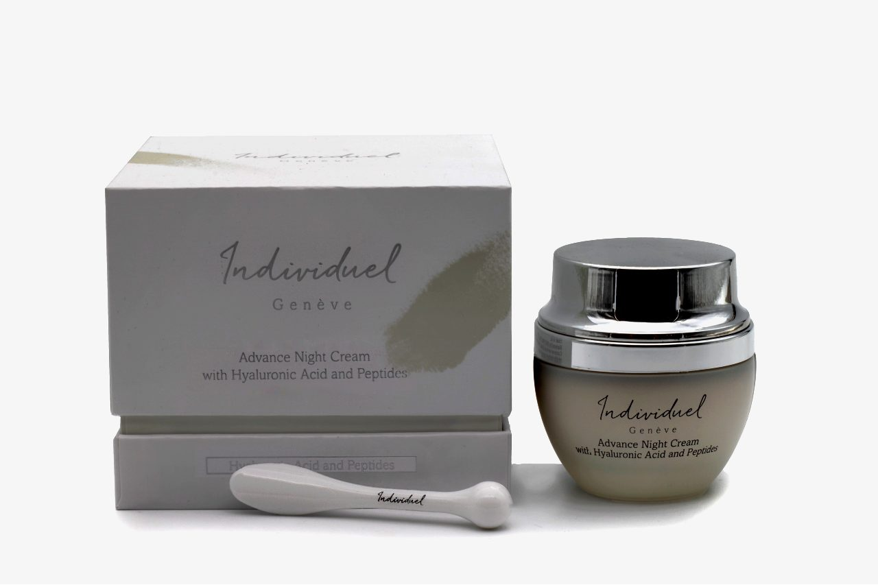 Individual Geneve Advance Night Cream With Hyaluronic Acid And Peptides