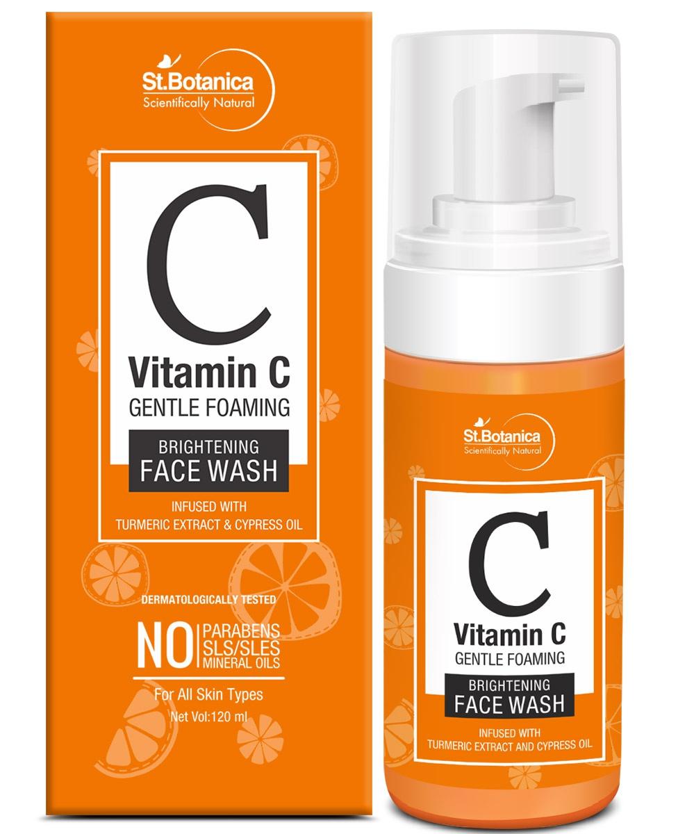 St. Botanica Vitamin C Foaming Brightening Face Wash