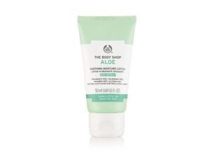 The Body Shop Aloe Soothing Moisture Lotion Spf15