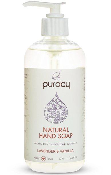 Puracy Natural Gel Hand Soap (Lavender & Vanilla)