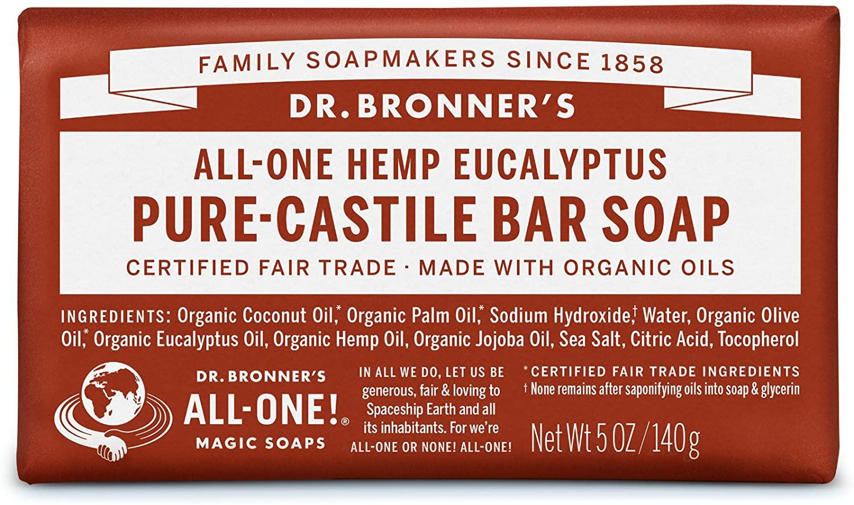 Dr. Bronner's Organic Eucalyptus Soap Bar