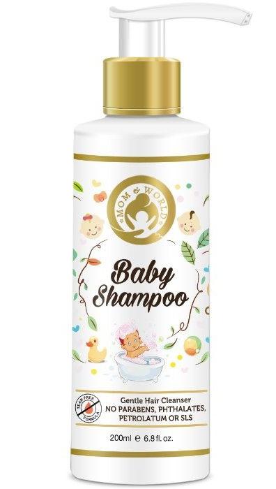 Mom and World Baby shampoo
