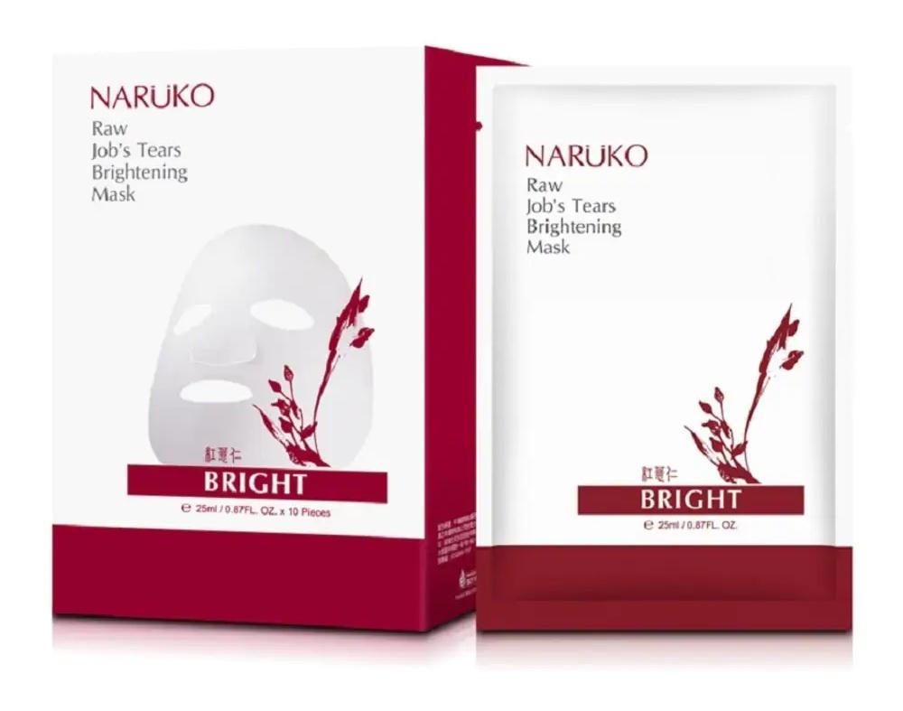 Naruko Raw Job'S Tears Supercritical Co2 Pore Minimizing Brightening Mask