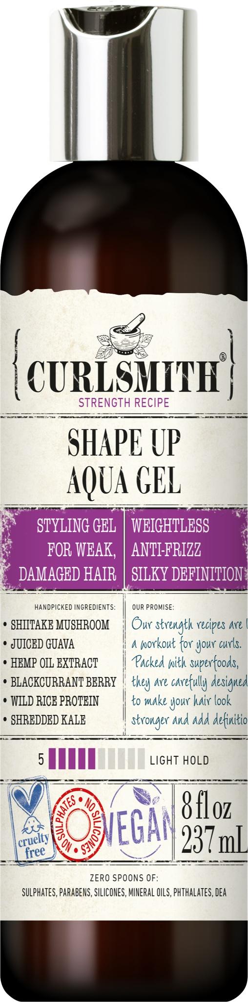Curlsmith Shape Up Aqua Gel