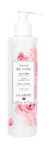 LilaRoze Body Lotion With Organic Rose And 5 % Shea Butter