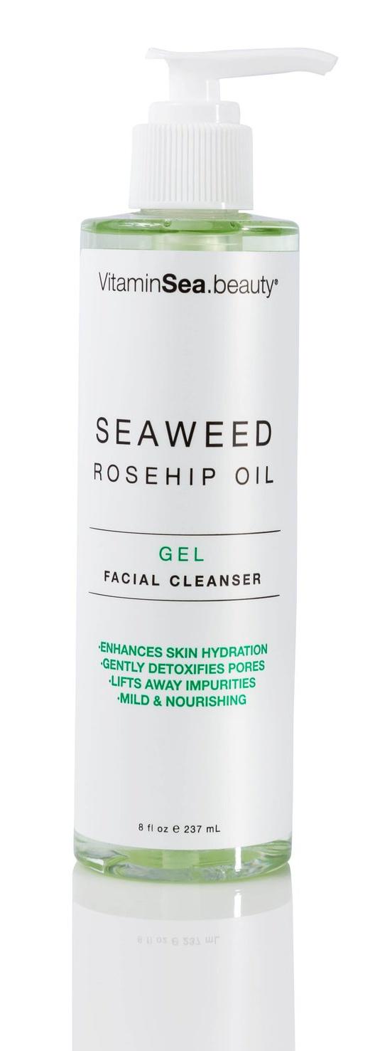 VitaminSea.Beauty Seaweed & Rosehip Oil Gel Facial Cleanser