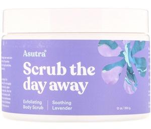 asutra Scrub The Day Away Exfoliating Lavender Body Scrub